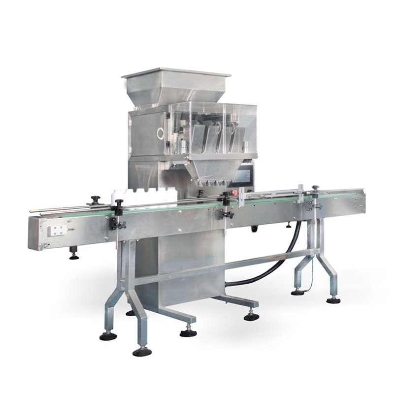 JA Four head scale particle filling machine