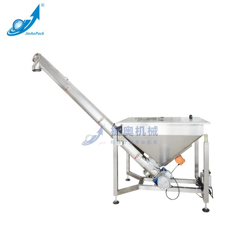 JAT-U400 Square bucket type U spiral vibrating feeding machine