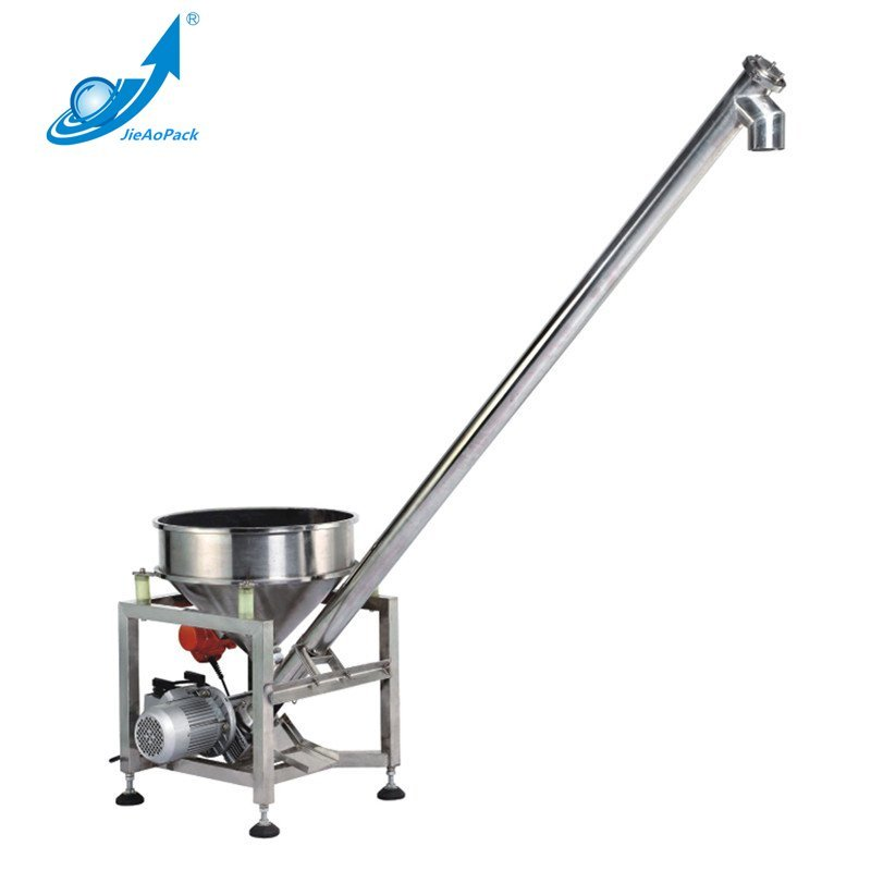 JAT-Y60 Circular Bucket Spiral Vibrating Feeding Machine