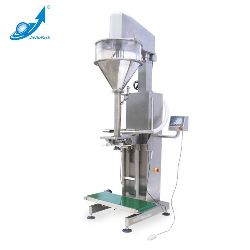 JAS-100-B Screw lifting weighing packaging machine