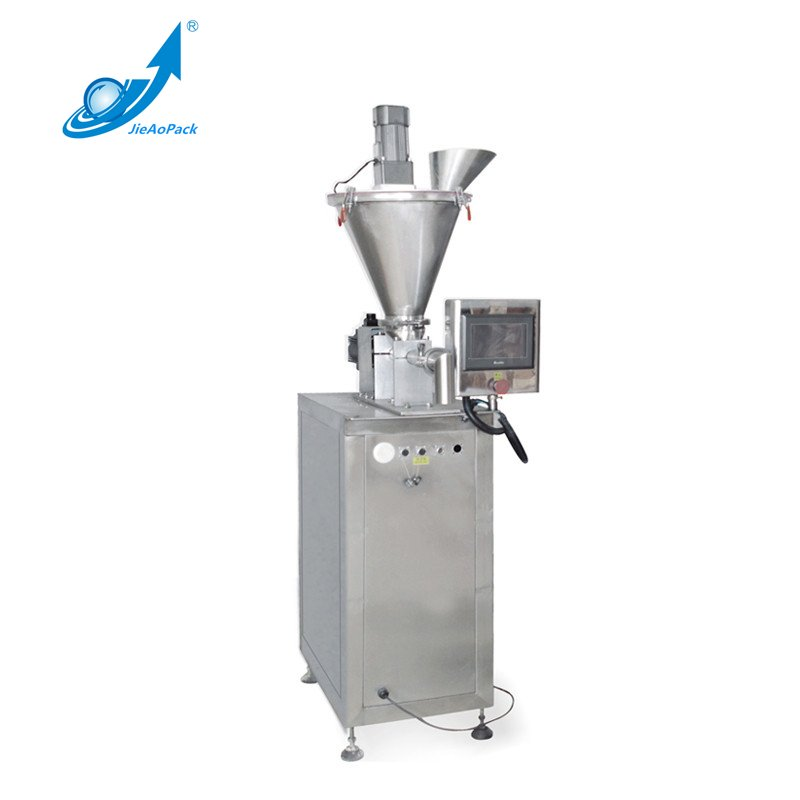 JA-30SP Semi Automatic Horizontal Screw Powder Packing Machine