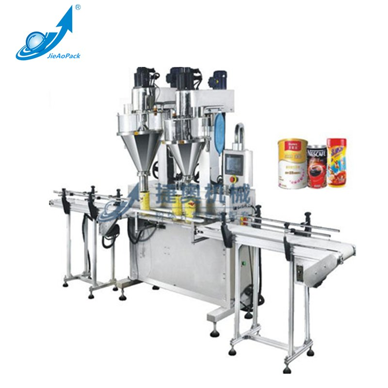 JA30G/50G   Double Head Screw Automatic Powder Filling Machine