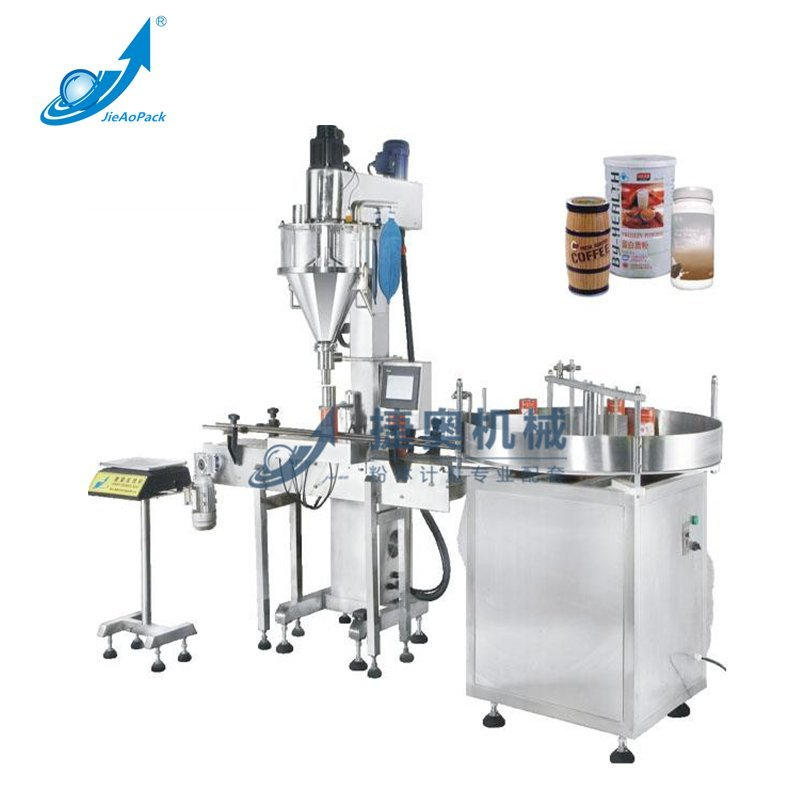 JA-50L/30L/15L Single-head Automatic Filling Machine in Jars And Bottles