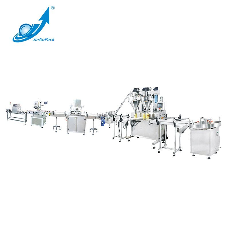 Full Automatic Powder Filling Machine Production Line