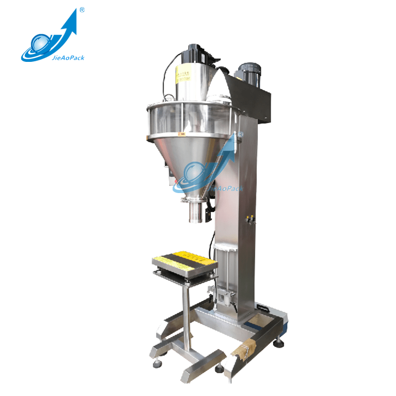 Powder Filling Machine For 20g~1kg Can/Bin/Bottle Packing