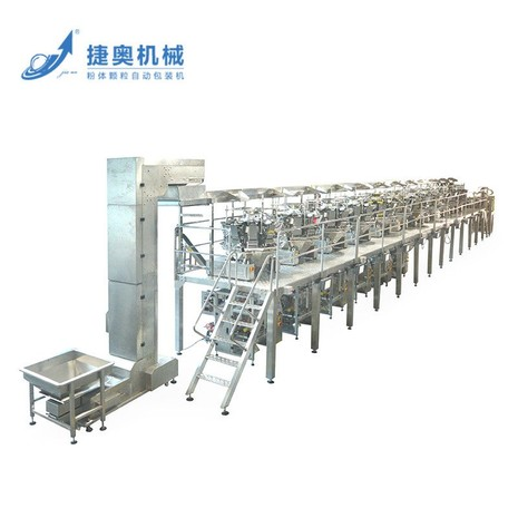 Granule automatic packing line