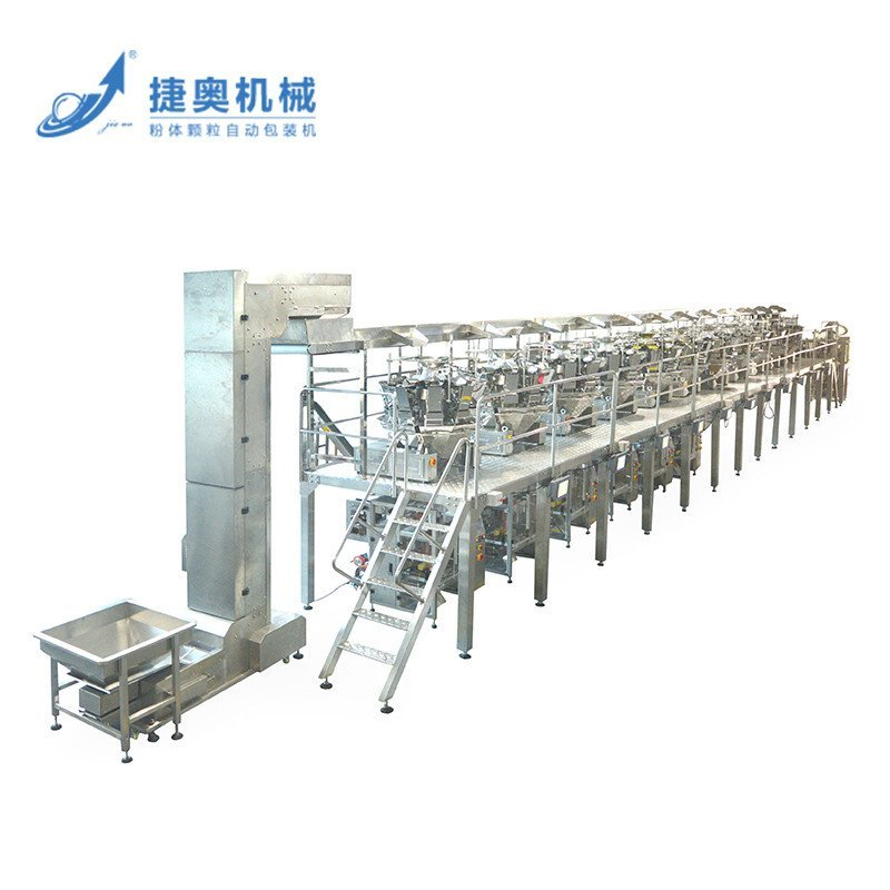 Automatic Granule  Packing Machine Line