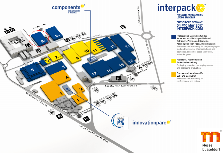 Jieao company will joint in Germany interpack