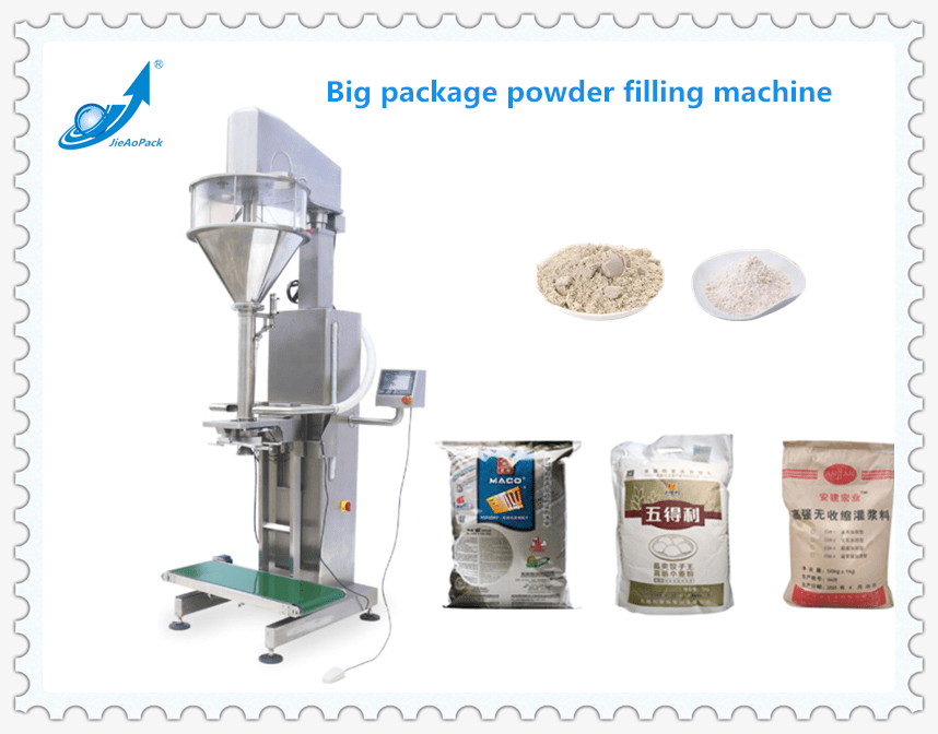 Big package powder filling machine